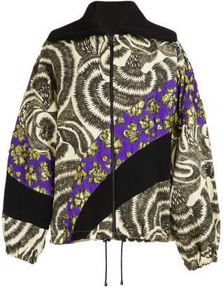 Dries Van Noten Printed bomber jacket
