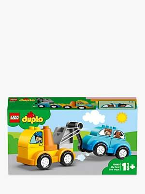 Lego DUPLO 10883 My First Tow Truck For Toddlers, Educational Toys for 1-2 yrs