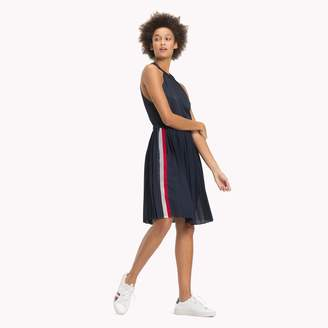 Tommy Hilfiger Pleated Halter Dress