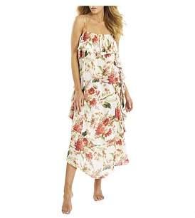 Sunseeker Floral Frill Bandeau Dress