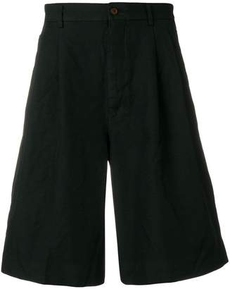 Comme des Garcons wide leg chino shorts