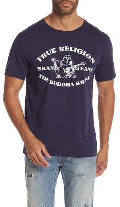 True Religion Buddha Past Crew Neck Tee