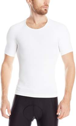 Spanx Zoned Performance Compression Crew Neck Top, M