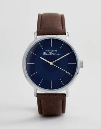 Ben Sherman BS014UBR Watch In Brown
