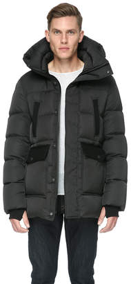 Soia & Kyo KIERAN sporty down jacket with removable hood