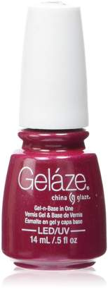 China Glaze Gelaze - Gel-n-Base In One - Ahoy! - 0.5oz / 14ml