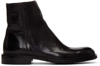 Paul Smith Black Billy Zip Boots