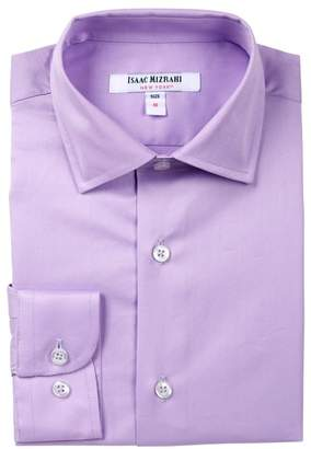 Isaac Mizrahi Solid Button Shirt (Toddler, Little Boys & Big Boys)