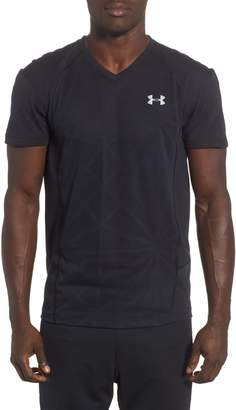 Under Armour Microthread Swyft V-Neck T-Shirt