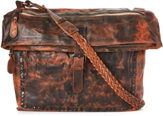 Giorgio Brato Black & Brown Leather Shoulder Bag