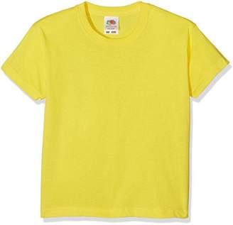 Fruit of the Loom Unisex Kids Valueweight Short Sleeve T-Shirt,12-13 Years (Manufacturer Size:34) - B