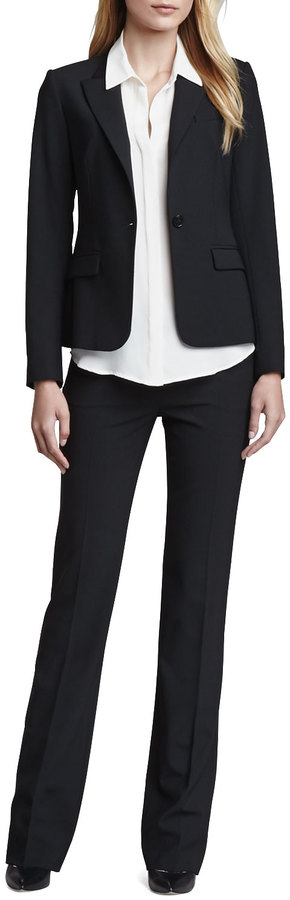 Theory Gabe One-Button Jacket