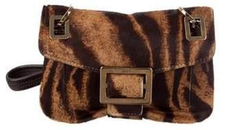 Roger Vivier Ponyhair Shoulder Bag