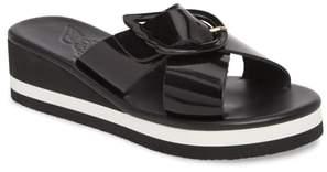 Ancient Greek Sandals Thais Wedge Slide Sandal