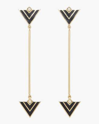 Amrapali Legend Convertible Enamel Triangle Earrings