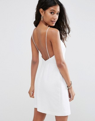 ASOS Scoop Back Mini Sundress $52 thestylecure.com