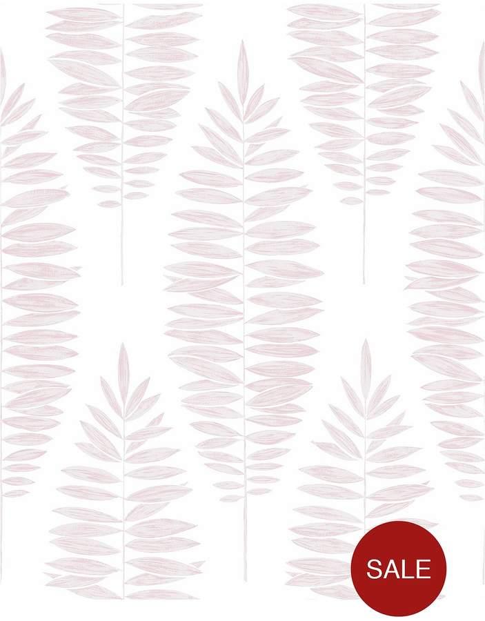 Lucia Pink Wallpaper - 10 Metre Roll