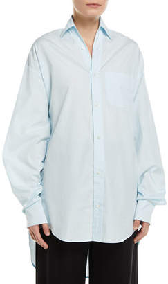 Vince Oversized Classic Button-Down Shirt