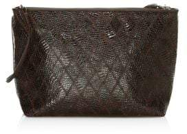 Elizabeth and James Pouch Patchwork Leather Convertible Bag
