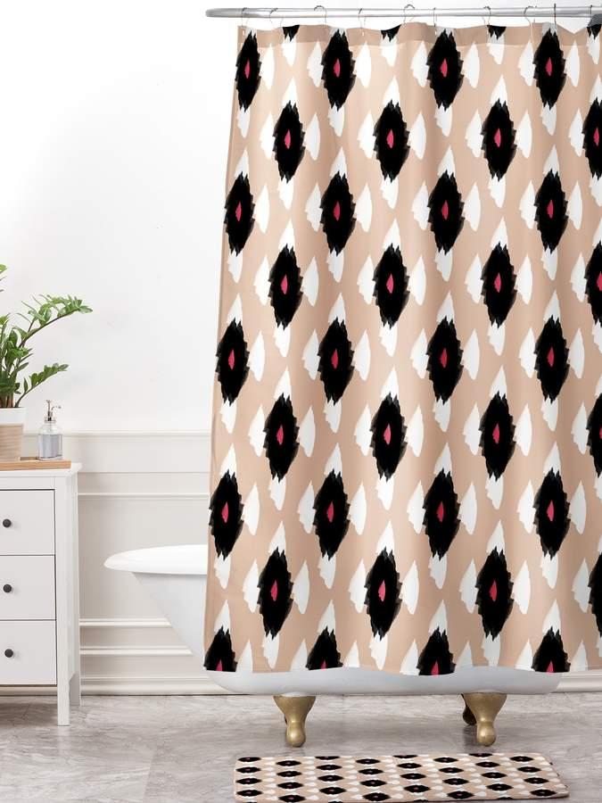 Ikat Shower Curtain Bath Set (2 PC)