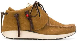 Visvim fringed short boots