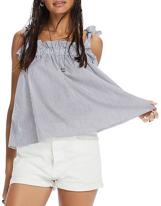 Scotch & Soda Shoulder Tie Tank Top $98 thestylecure.com