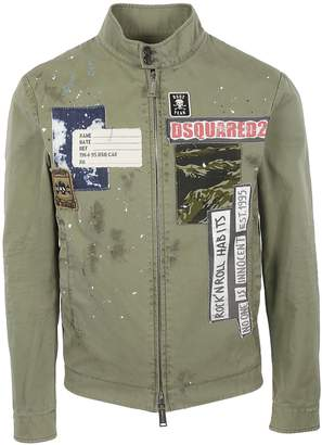 DSQUARED2 Patchwork Jacket