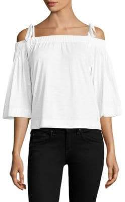 Feel The Piece Sunset Off-the-Shoulder Top