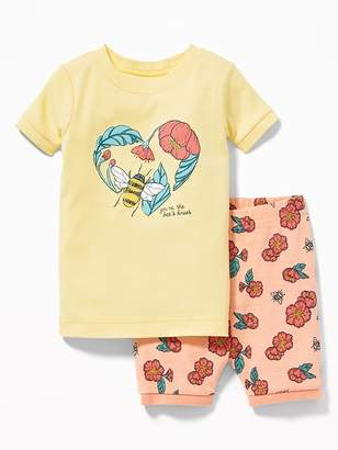 """Old Navy """"You're the Bee's Knees"""" Sleep Set for Toddler & Baby"""