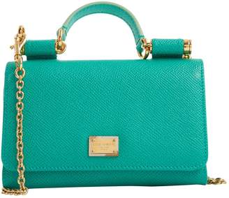 b2a626c7894f Dolce   Gabbana Green Leather Bags For Women - ShopStyle UK