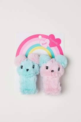 H&M 2-pack Soft Toy Bracelets - Turquoise