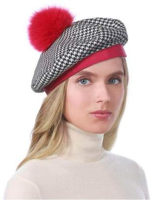 d6514f15f Red And White Pom Pom Hat - ShopStyle