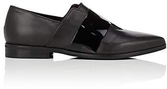 Barneys New York WOMEN'S LACELESS LEATHER LOAFERS