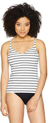 Seafolly Women's Dd Cup Sweetheart Tankini Swimsuit Top with Convertible Straps