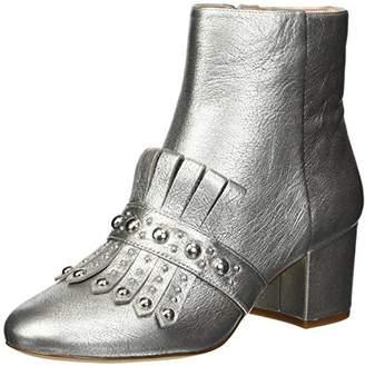 Nine West Women's QAMILE Metallic Ankle Boot