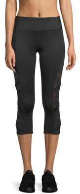 Mesh Cropped Leggings