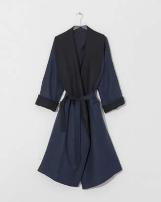 Nehera Dark Blue Doubleface Cabov Coat