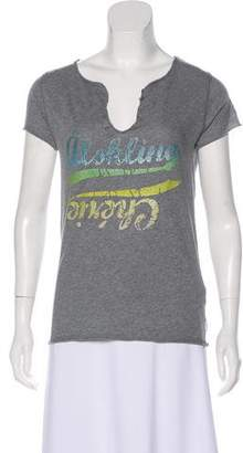 Zadig & Voltaire Graphic Short Sleeve Top w/ Tags