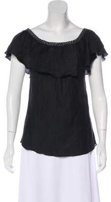 Loomstate Off Shoulder Cotton Top