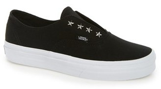 Women's Vans 'Authentic' Studded Slip-On Sneaker $59.95 thestylecure.com