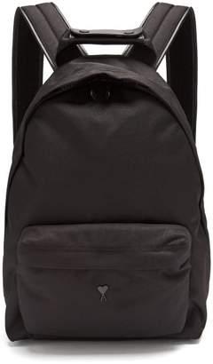 Ami Canvas Backpack - Mens - Black