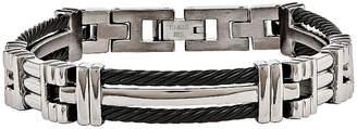 FINE JEWELRY Mens Titanium Chain Bracelet