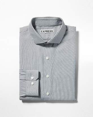 Express Extra Slim Striped Dress Shirt