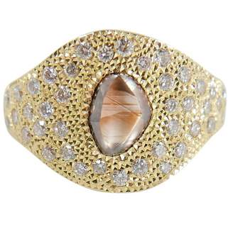 De Beers Yellow gold ring