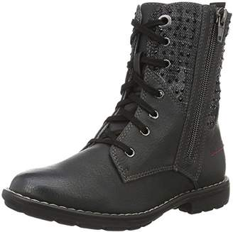 S'Oliver Girls' 46216 Combat Boots