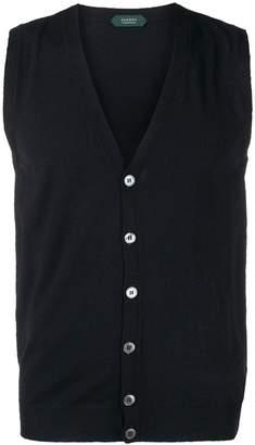 Zanone v-neck knit vest