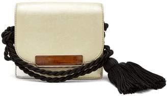 HILLIER BARTLEY Tassel-embellished mini satchel bag