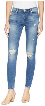Blank NYC The Reade Denim Skinny Rips At Knee in Around Town Women's Jeans