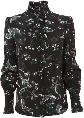 True Royal Floral Print Blouse