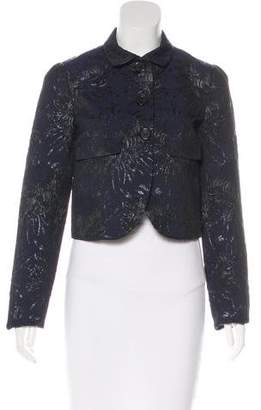 Rochas Jacquard Collared Jacket w/ Tags